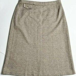 Vintage Cricket Lane Herringbone Skirt
